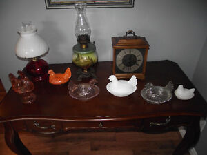 Glassware (incl. Uranium glass), Painting & Other Nice Items