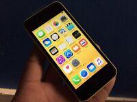 Apple iPhone 5c - 8gb - 02 - giffgaff - yellow