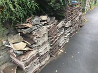 Redland roof tiles free to collector