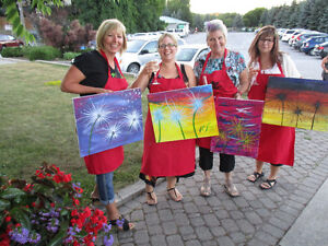 $20 OFF PAINT PARTY AT THE MILL, COBOURG Peterborough Peterborough Area image 6
