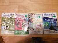 4 Chicken soup books for $10