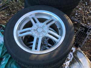 Set or 4 all season tires with rims