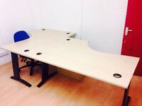 Friendly and Creative Desk space in Hackney Wick, only 2x£200 and 4x£100 a month.