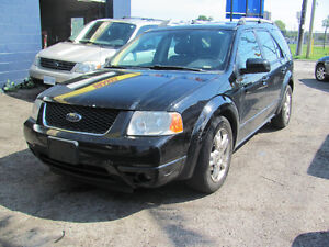 2007 Ford FreeStyle SUV  safety and e test