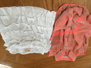 Girls tops size 14
