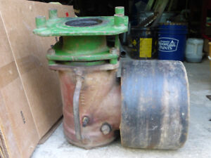 Tractor Flat Belt Pulley Drive Assembly