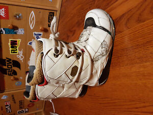 Nitro size 9 men's used snowboard boots
