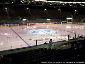 Toronto Maple Leafs vs Montreal Canadiens Oct. 2, Gold sec. 120