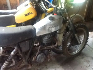 1978 Yamaha XT500 for parts or restore