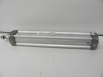 Festo Air Pneumatic Cylinder Dn-40-250-ppv-a Double Acting 40mm Piston 250mm Str