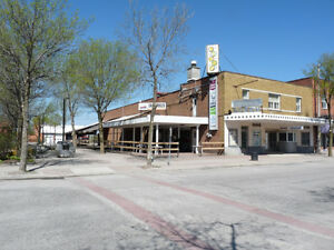 BINGO & RESTAURANT BUSINESS, BUILDING WITH APT & LG LOT FOR SALE