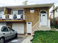 Spacious 3Brm w/ Deck in Brampton Duplex, Available Immediately