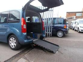 Wheelchair Accessible Peugeot Partner 1.6HDi Y Tepee S