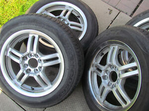 Rated Tires and Aluminum Wheels