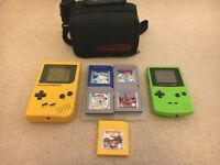 Gameboy, Gameboy Colour and 5 games
