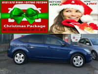2009 FORD FOCUS 1.8 STYLE 125 BHP 5 DOOR ( AA ) WARRANTED INCLUDED