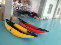 ONE MAN INFLATABLE KAYAK WITH INFLATABLE FLOOR