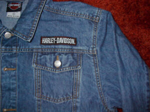 Harley-Davidson Denim Jacket - Great for Fall!