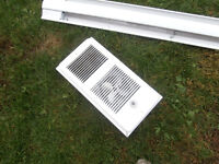 """1 base boards heaters1 =un 4foot 9""""$25 1 box heater $25 or 2 for"""