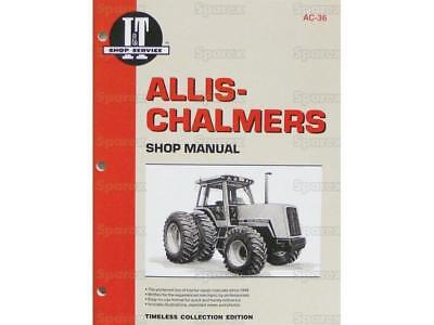 Allis-chalmers 8010 8030 8050 8070 Tractor Shop Service Manual Book It Ac36 New
