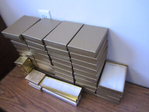 76 Pieces Gold Jewellery Give Boxes