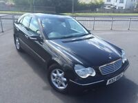2004 Mercedes C class 1.8 c180 ONE OWNER