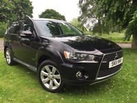 2011 MITSUBISHI OUTLANDER 2.2 DI-D GX3 4WD * 7 SEATER * SERVICE HISTORY* FULLY LOADED *12 MONTHS MOT