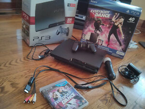 PS3 Bundle With PS Move & Everybody Dance Game