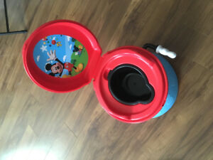 Mickey Mouse pottie trainer