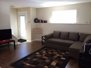 Newly renovated Furnished 2 Bedroom walkout Basement Suite