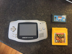 Nintendo Game Boy Advance with games
