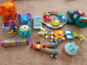 Vtech,Fisher Price baby,music toys