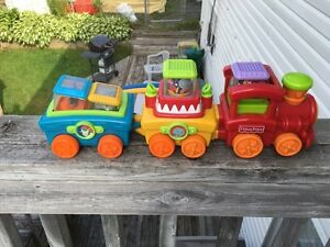 Fisher Price Musical Toy Train
