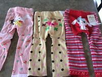 Baby girl leggings-New-Size 24 months