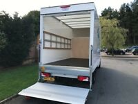 MAN & VAN HOUSE MOVING OFFICE REMOVAL IKEA DELIVERY BIKE MOVERS PIANO SHIFTING LUTON TRUCK HIRE RENT
