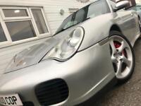 Porsche 911 Carrera 4S Coupe PETROL MANUAL 2002/J