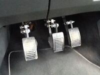 Extension car foot pedals