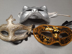 Masquerade masks for sale! perfect condition & high quality