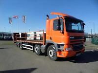 2012 (61) DAF TRUCKS FAX CF85.360 8X2 BEAVERTAIL PLANT TRUCK