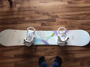 New K2 board and binding  with Burton boots
