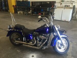 Custom harley fatboy- REDUCED FOR QUICK SALE.
