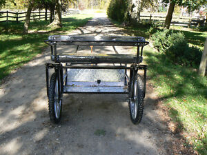New Easy Entry Horse Cart London Ontario image 2