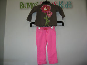 Girl's 6/12 months (Place) Long sleeve shirt/Pants London Ontario image 1