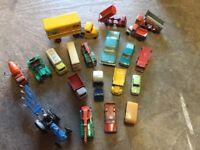Die cast cars
