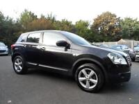 Nissan Qashqai 1.6 2WD Tekna FULL LEATHER PAN ROOF 08 PLATE 2008 YEAR