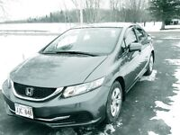 2015 Honda Civic Sedan  EX  ONLY  15 000 KM
