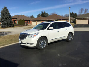 2017 Buick Enclave Black leather SUV, Crossover