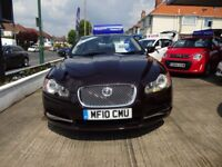 Jaguar XF 3.0 litre V6 Diesel Luxury (red) 2010