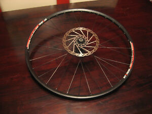 26 inch DT Swiss x430 mountain bike front wheel