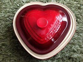 Lovely Le Creuset Heart shaped Casserole dish
